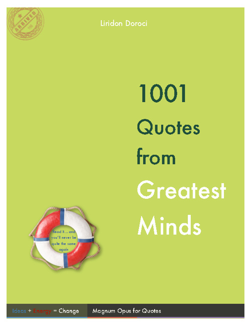 1001 quotes from Greatest Minds