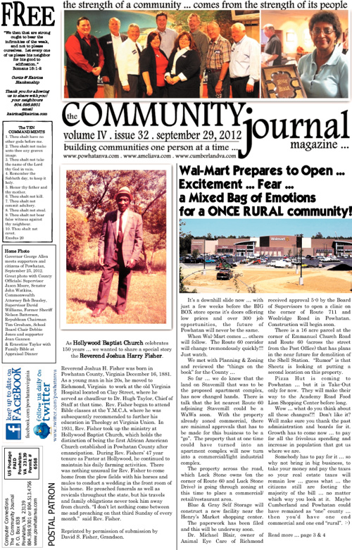 The Community Journal Magazine . September 28, 2012