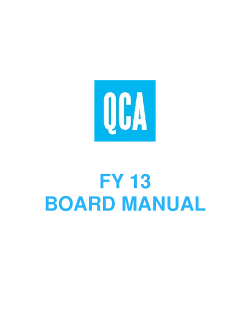 Copy of QCA Board Manual