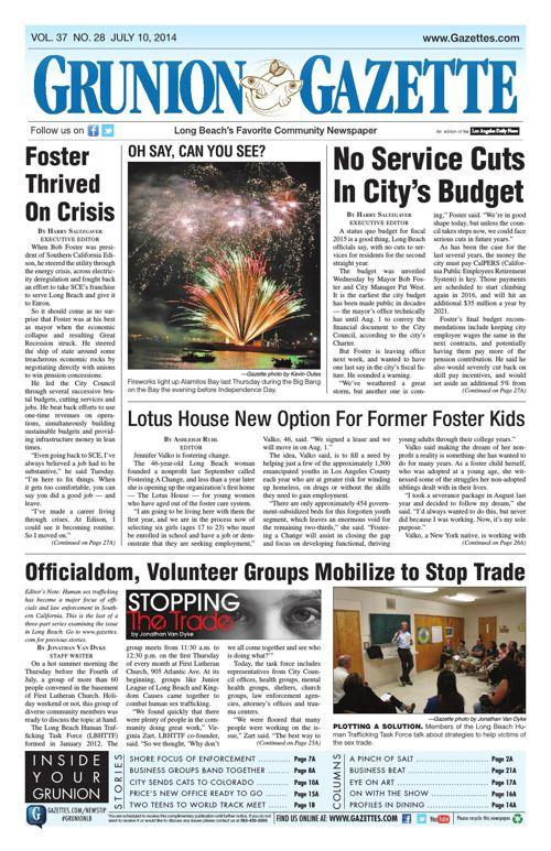 Grunion Gazette | July 10, 2014