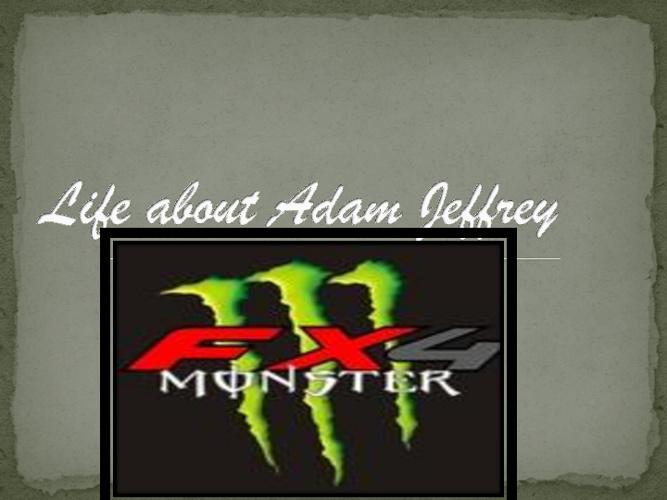 Adam Jeffrey