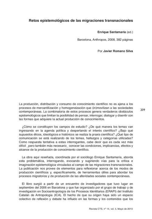 VOL05/N14 - Reseña