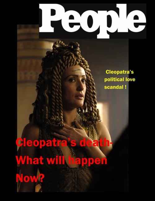 Cleopatra Magazine- Finished
