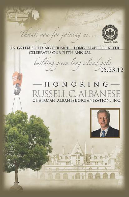 USGBC-LI Gala 2012 Journal