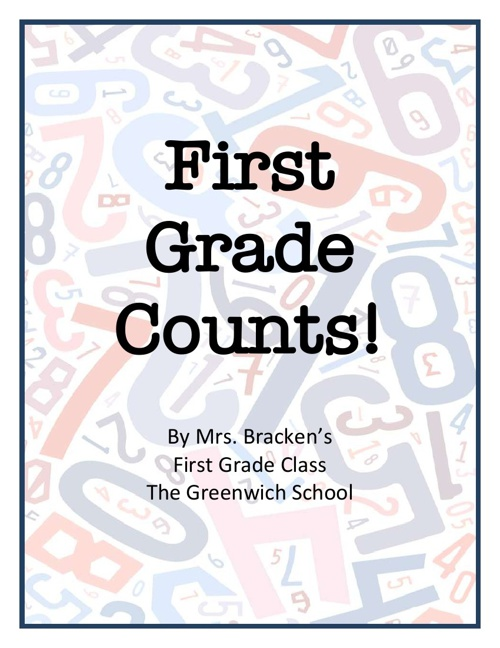 1B First Grade Counts!
