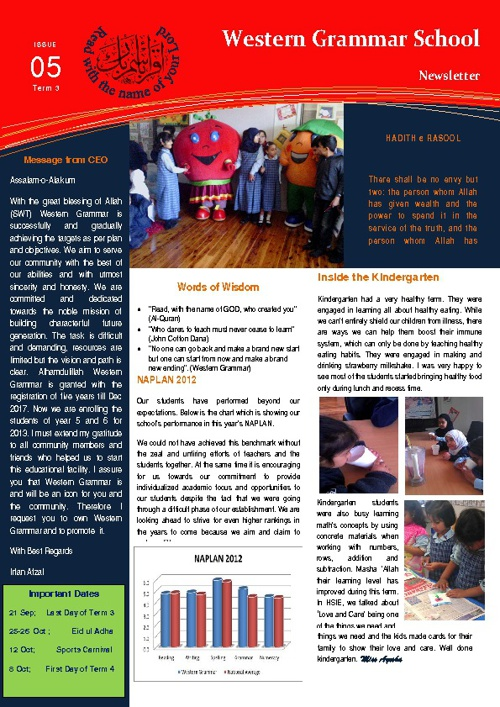 Copy of WGS Newsletter