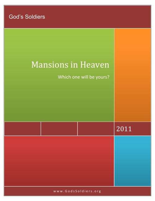 Mansions in Heaven