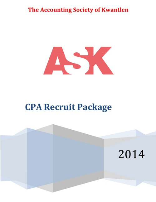 CPA Recruit Package