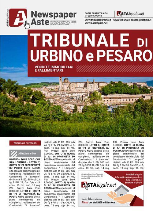 Urbino Pesaro 9 febbraio 2018