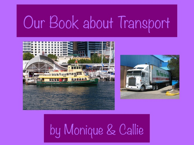 Copy of Our Book About Transport
