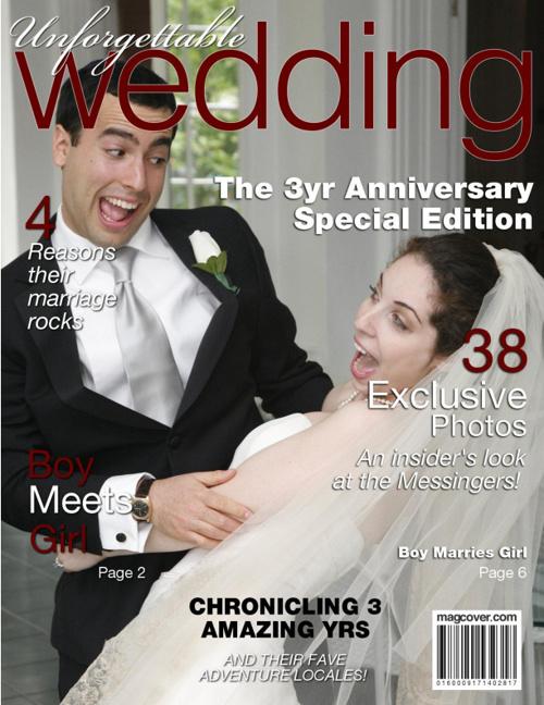 UNFORGETABLE WEDDING - 3yr Wedding Anniversary Edition