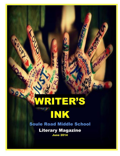 Soule Road Middle Literary Magazine