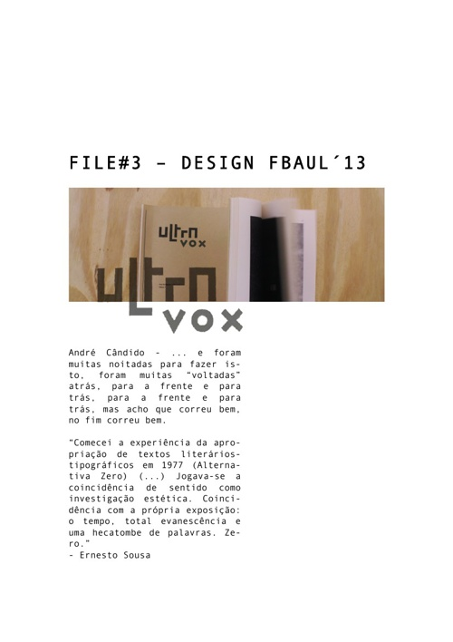 FILE#3 - DC IV | ULTRAVOX