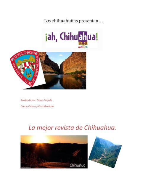 """""""LOS CHIHUAHUITAS"""""""