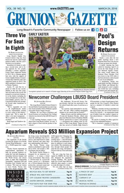Grunion Gazette | March 24, 2016