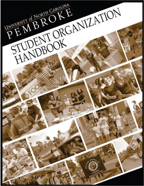 UNCP Student Organization Handbook