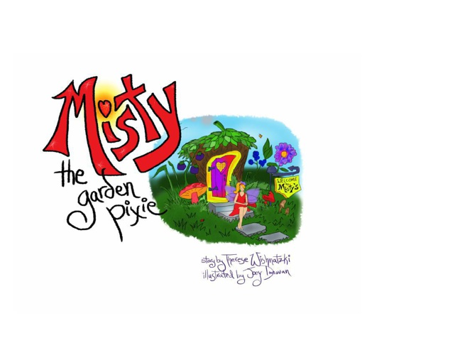 Wish Farm Misty the Garden Pixie Children's Book