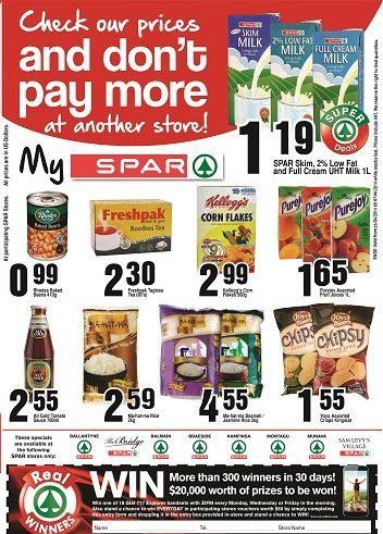 SPAR Don't Pay More Specials
