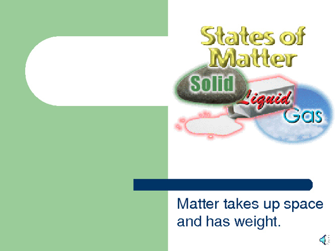 States of Matter Review