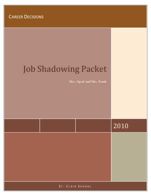 Job Shadowing Tips and Tricks
