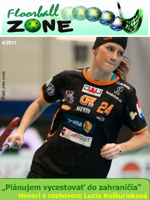 Floorball ZONE magazín 4/2011