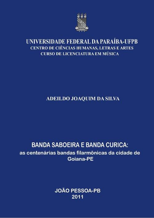 BANDA SABOEIRA E BANDA CURICA (extrato da monografia)