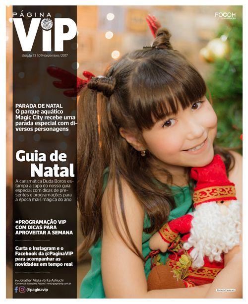 Leia ONLINE o caderno Página VIP de 09/12/2017