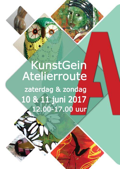 Routeboekje KunstGein Atelierroute 2017