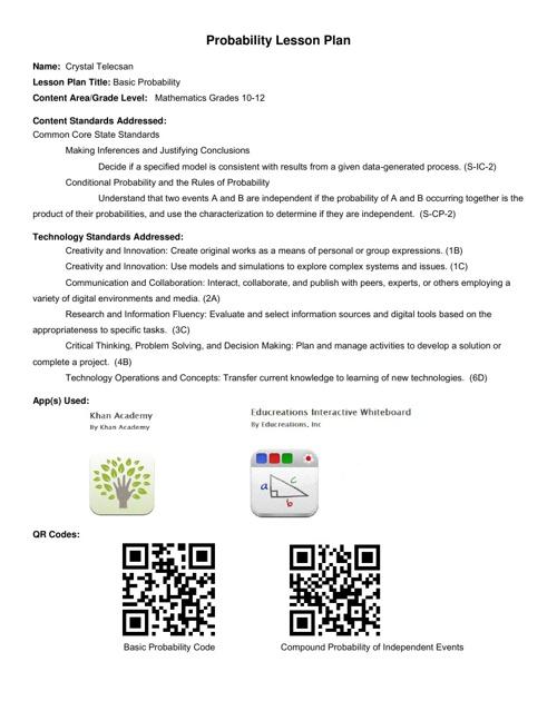 Final Apps for Educators
