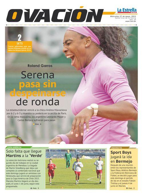 Deportes 27-05-2015