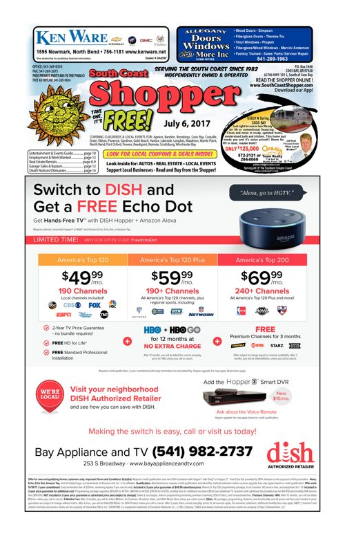 South Coast Shopper e-Edition 7-6-17