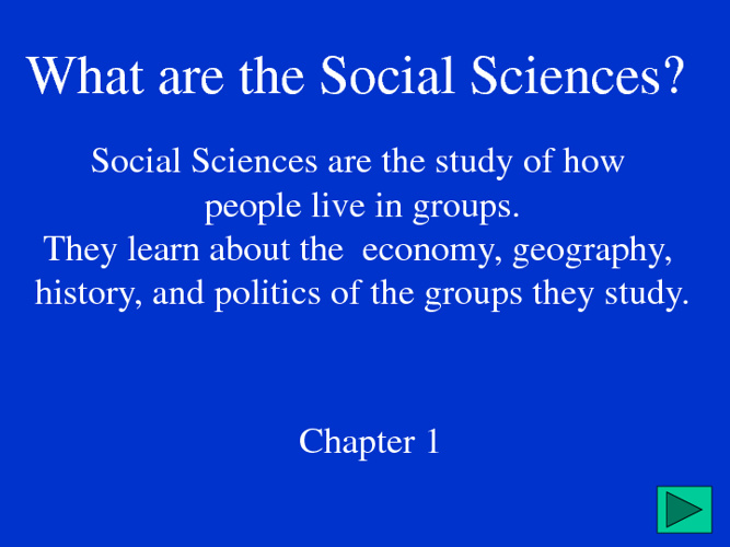 Social Studies Introduction