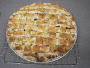 My Delicious Peach Pie by Stephanie Schrader