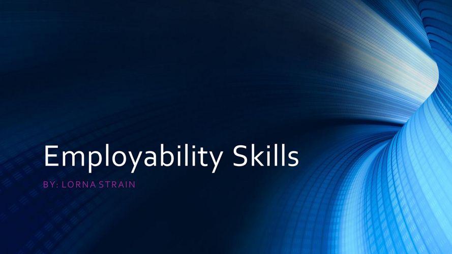 Emoloyability Skills