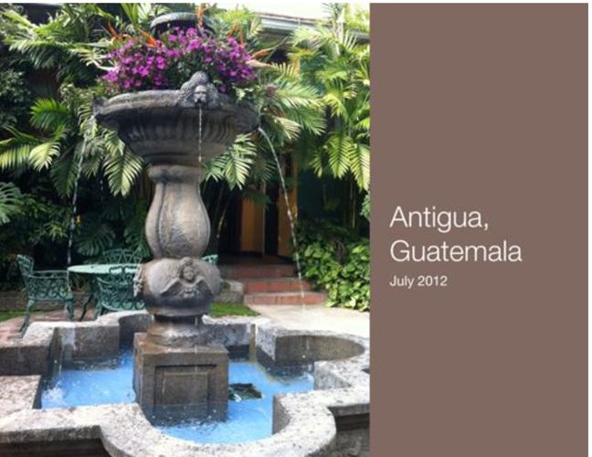 Guatemala Trip 2012