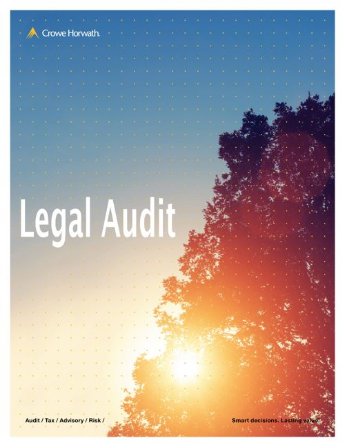 Crowe Horwath Jamaica now offers Legal Audit
