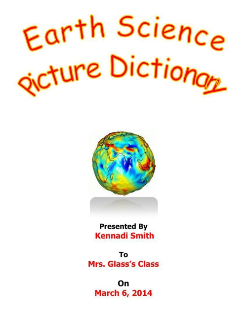 Earth Science Picture Dictionary