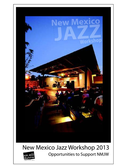New Mexico Jazz Workshop Brochure