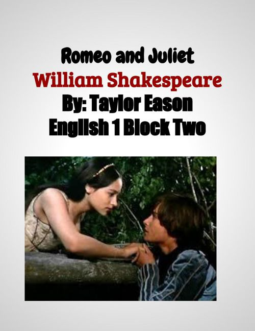 Romeo and Juliet Scrapbook  (2)