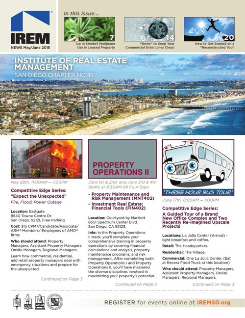 IREMSD May-June 2015 Newsletter