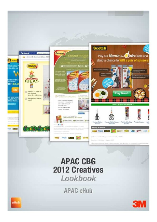 APAC CBG 2012 Creatives Lookbook