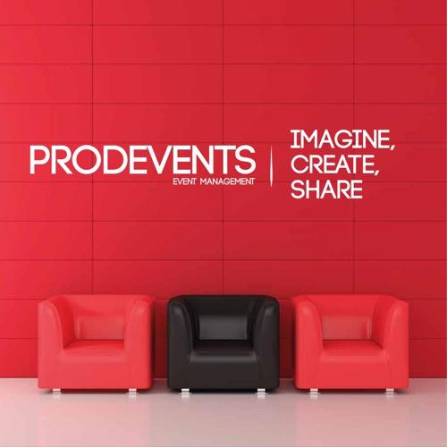 Plaquette PRODEVENTS