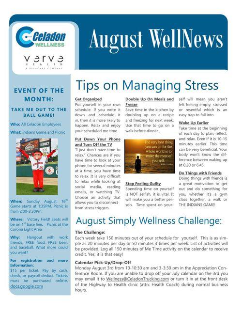 August WellNews 2015