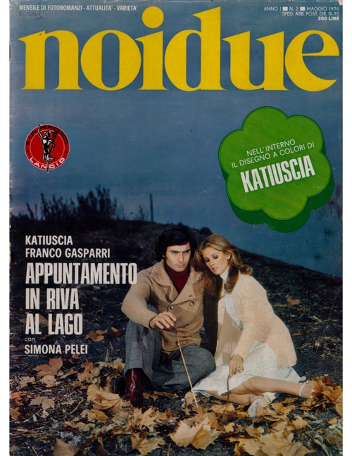 Copy of NOIDUE N. 2 (1976) - APPUNTAMENTO IN RIVA AL LAGO