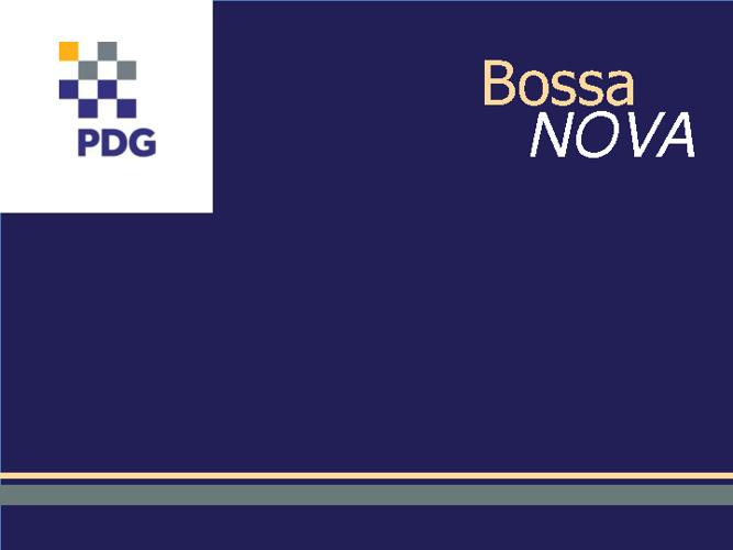 PDG - Residencial Bossa Nova