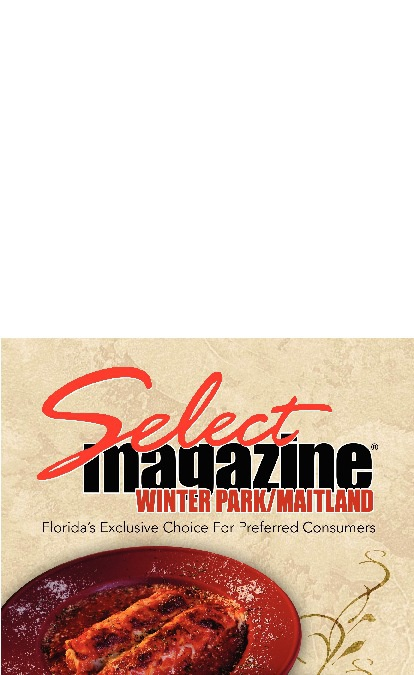 Select Magazine- Winter Park/Maitland