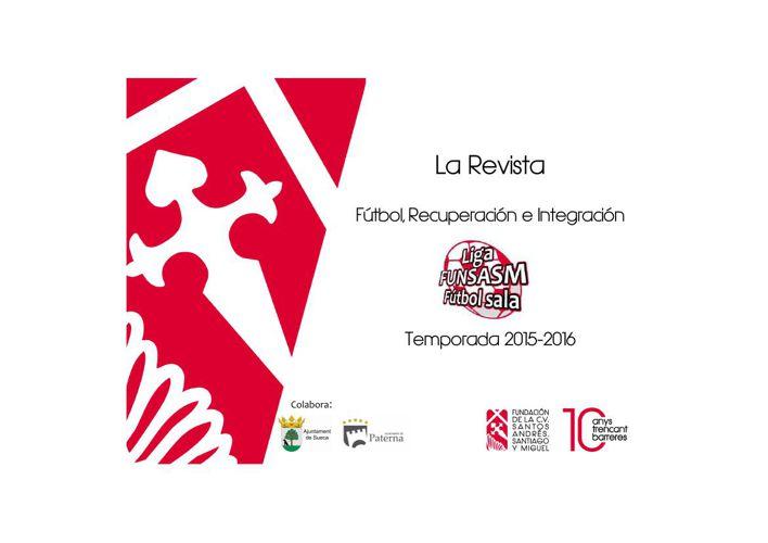 LIGA DE FUTBOL FUNSASM PRO-SALUD MENTAL  9-2-2016