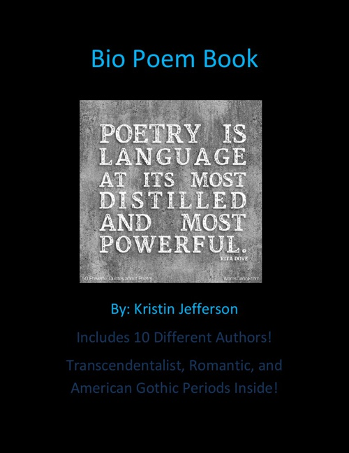 Bio Poem Book