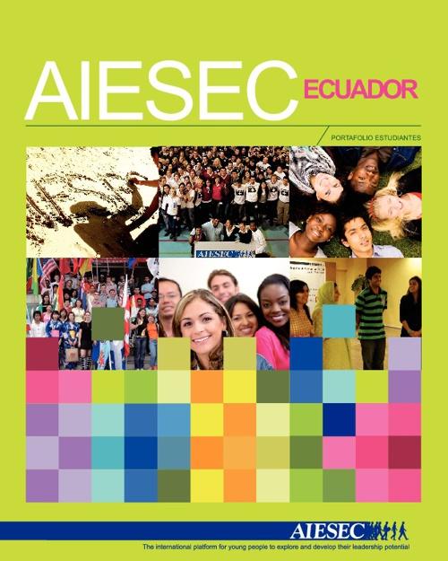 Portafolio AIESEC para Estudiantes