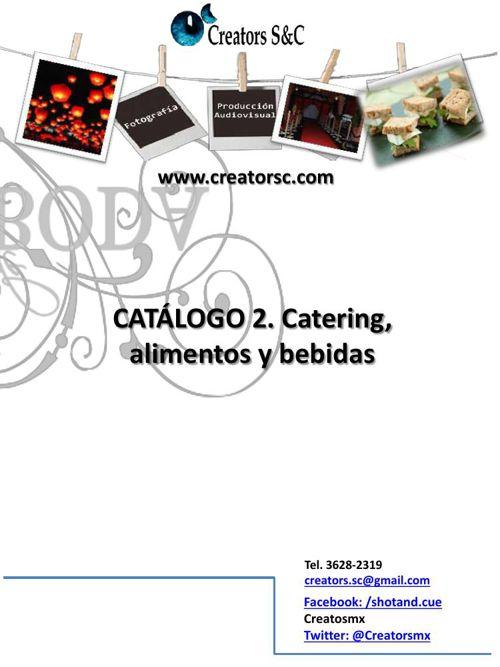 Catering y alimentos Creators II